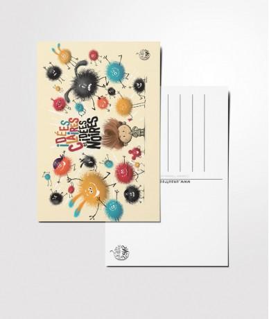 Carte postale Idées claires...